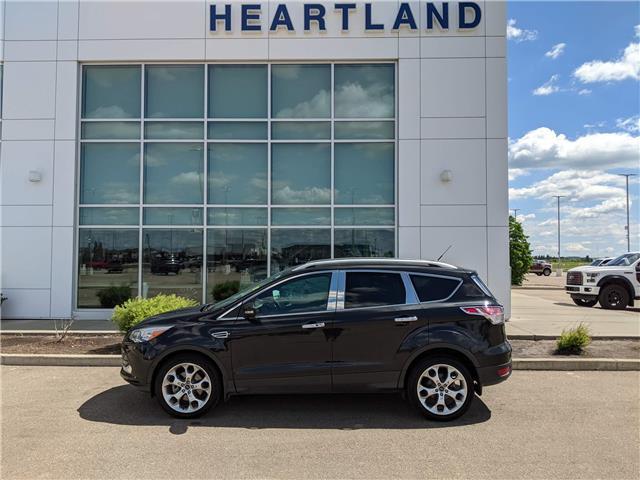 2014 Ford Escape Titanium (Stk: MEX029A) in Fort Saskatchewan - Image 1 of 43