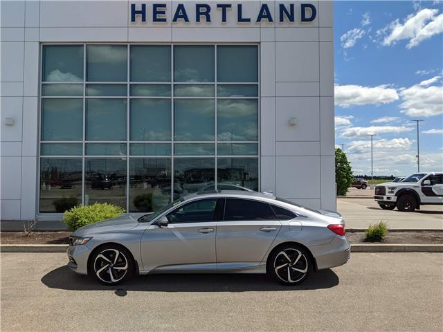 2019 Honda Accord Sport 1.5T (Stk: MLT201A) in Fort Saskatchewan - Image 1 of 41