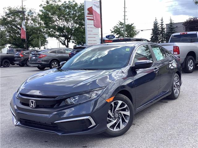 2021 Honda Civic EX (Stk: 11-21742) in Barrie - Image 1 of 24