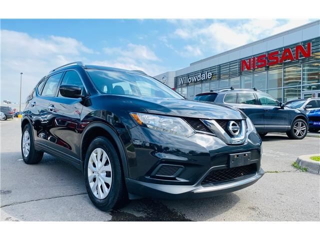 2016 Nissan Rogue S (Stk: N2091A) in Thornhill - Image 1 of 19
