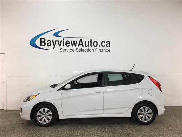 2017 Hyundai Accent L (Stk: 37943W) in Belleville - Image 1 of 25