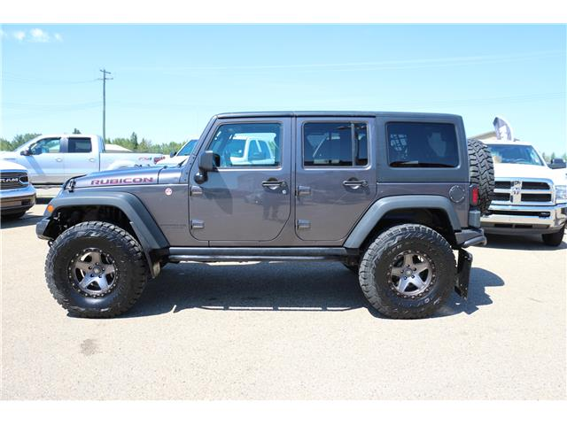 2016 Jeep Wrangler Unlimited Rubicon (Stk: MP110) in Rocky Mountain House - Image 1 of 18