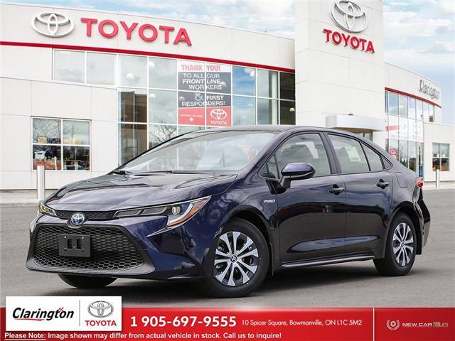 2021 Toyota Corolla Hybrid Base w/Li Battery (Stk: 21581) in Bowmanville - Image 1 of 23