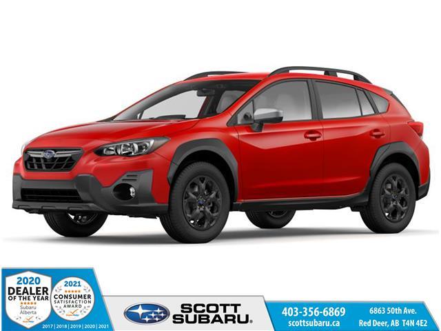 2021 Subaru Crosstrek Outdoor (Stk: 376609) in Red Deer - Image 1 of 9