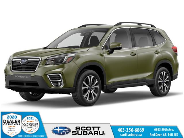 2021 Subaru Forester Limited (Stk: 560456) in Red Deer - Image 1 of 10