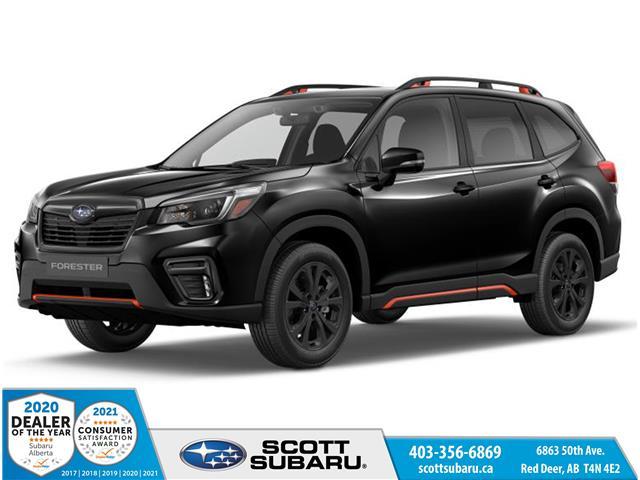 2021 Subaru Forester Sport (Stk: 558813) in Red Deer - Image 1 of 9