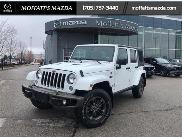 2017 Jeep Wrangler Unlimited Sahara (Stk: P8763AA) in Barrie - Image 1 of 18