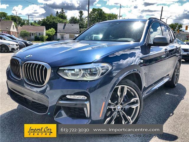 2019 BMW X3 M40i (Stk: Z02595) in Ottawa - Image 1 of 26