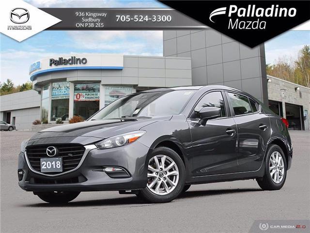 2018 Mazda Mazda3 GS (Stk: 8054A) in Greater Sudbury - Image 1 of 28