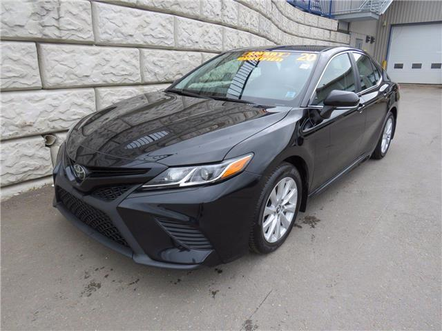 2020 Toyota Camry SE $86wk ALL IN (Stk: D10809P) in Fredericton - Image 1 of 17