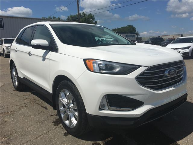 2021 Ford Edge Titanium (Stk: 21205) in Wilkie - Image 1 of 22