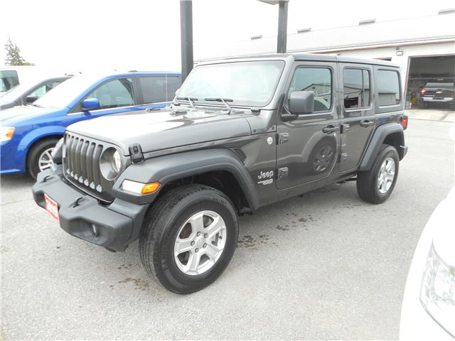 2019 Jeep Wrangler Unlimited Sport (Stk: NC 4084) in Cameron - Image 1 of 8