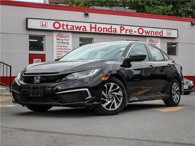 2019 Honda Civic EX (Stk: H91170) in Ottawa - Image 1 of 28