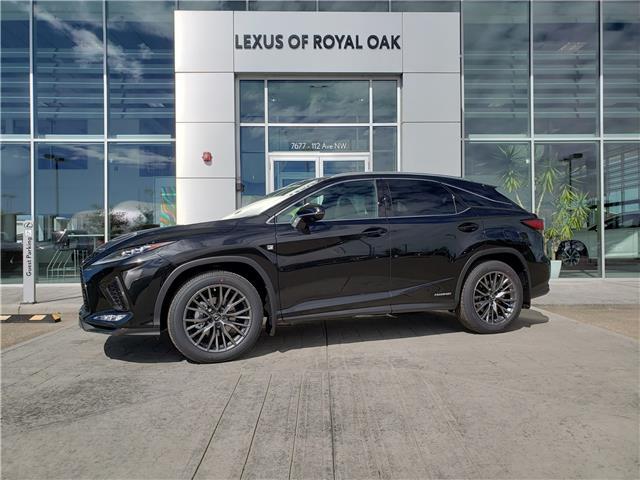 2021 Lexus RX 450h Base (Stk: L21423) in Calgary - Image 1 of 13