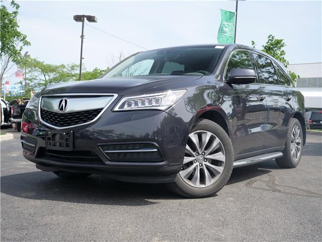 2016 Acura MDX Technology Package (Stk: 1560) in Mississauga - Image 1 of 28