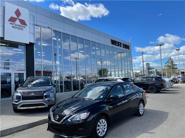 2019 Nissan Sentra 1.8 SV (Stk: BM4084A) in Edmonton - Image 1 of 24