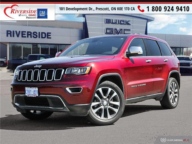 2018 Jeep Grand Cherokee Limited (Stk: 4249A) in Prescott - Image 1 of 27