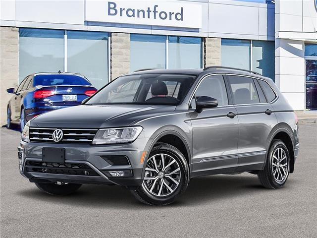 2021 Volkswagen Tiguan Comfortline (Stk: TI21585) in Brantford - Image 1 of 10