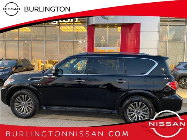 2020 Nissan Armada Platinum (Stk: A7057) in Burlington - Image 1 of 18