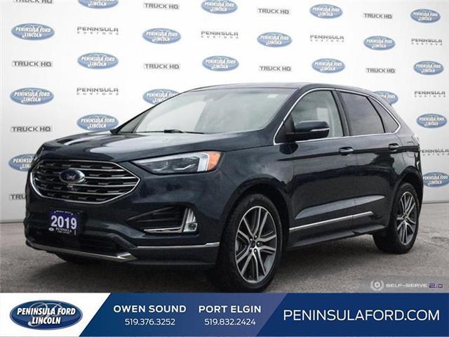 2019 Ford Edge Titanium (Stk: 21ED15A) in Owen Sound - Image 1 of 25