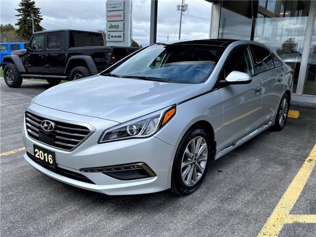 2016 Hyundai Sonata Limited (Stk: 21079A) in Meaford - Image 1 of 20