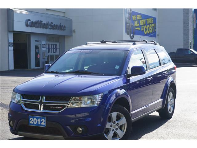 2012 Dodge Journey SXT & Crew (Stk: 21-185A) in Salmon Arm - Image 1 of 28