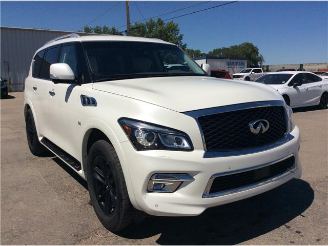 2017 Infiniti QX80 Limited 7 Passenger (Stk: 21139A) in Wilkie - Image 1 of 26