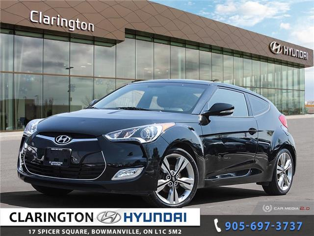 2016 Hyundai Veloster Tech (Stk: 21270A) in Clarington - Image 1 of 27