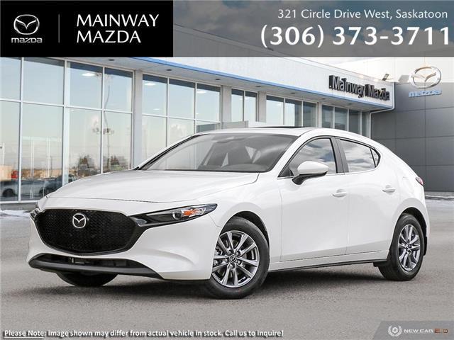 2021 Mazda Mazda3 Sport GS w/Luxury Package (Stk: M21262) in Saskatoon - Image 1 of 22