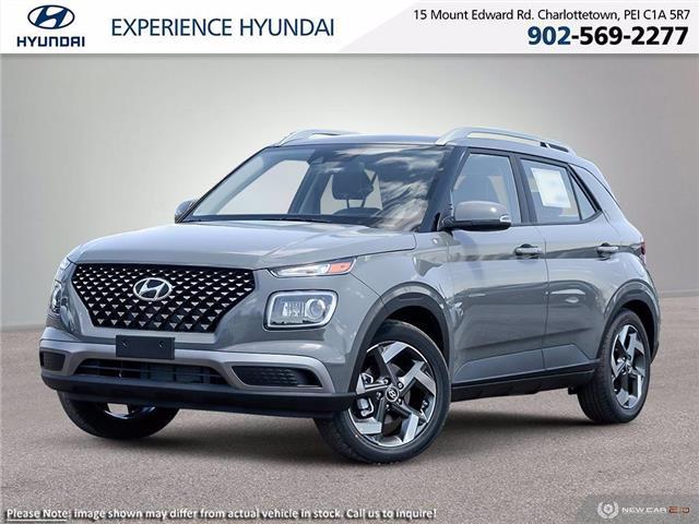 2021 Hyundai Venue Ultimate w/Black Interior (IVT) (Stk: N1464) in Charlottetown - Image 1 of 23