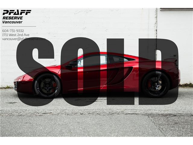 2012 McLaren MP4-12C  (Stk: VC006) in Vancouver - Image 1 of 21