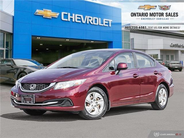 2013 Honda Civic LX (Stk: SB1036B) in Oshawa - Image 1 of 35