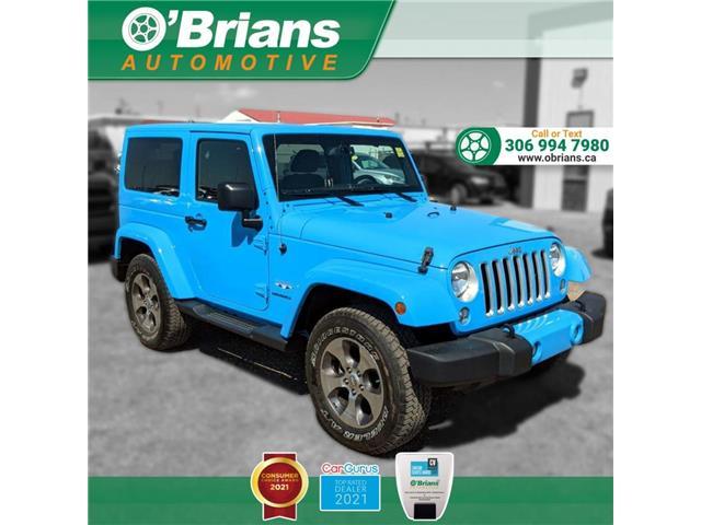 2017 Jeep Wrangler Sahara (Stk: 14652A) in Saskatoon - Image 1 of 22