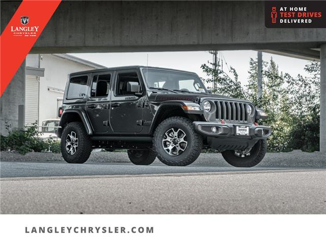 2021 Jeep Wrangler Unlimited Rubicon (Stk: M764388) in Surrey - Image 1 of 27