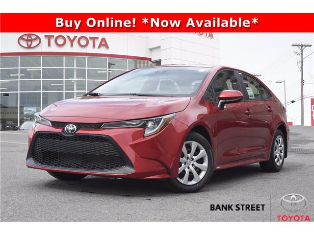 2020 Toyota Corolla LE (Stk: 19-28552) in Ottawa - Image 1 of 21
