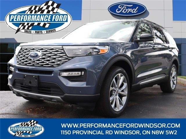 2021 Ford Explorer Platinum (Stk: EX55805) in Windsor - Image 1 of 17