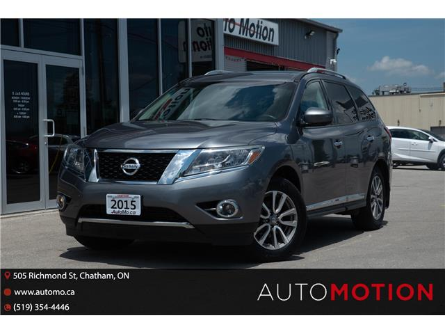 2015 Nissan Pathfinder  (Stk: 211158) in Chatham - Image 1 of 30
