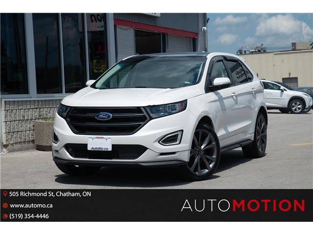2016 Ford Edge Sport (Stk: 211165) in Chatham - Image 1 of 27
