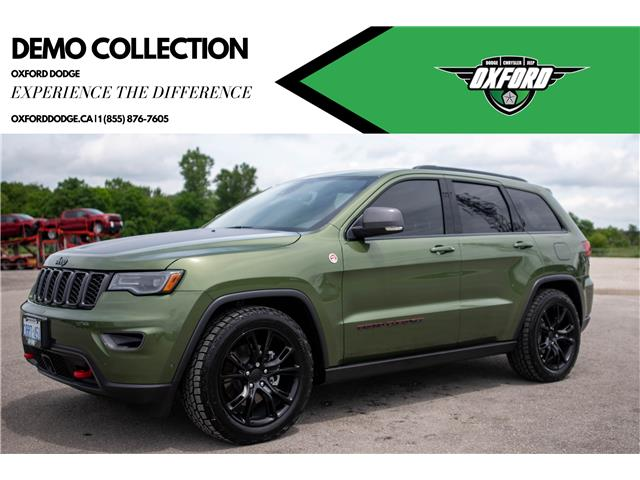 2021 Jeep Grand Cherokee Trailhawk (Stk: 21419D) in London - Image 1 of 20