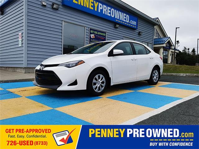 2018 Toyota Corolla CE (Stk: A21049) in Mount Pearl - Image 1 of 14