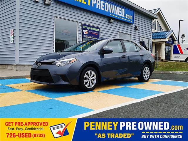 2014 Toyota Corolla LE (Stk: 40385A) in Mount Pearl - Image 1 of 15