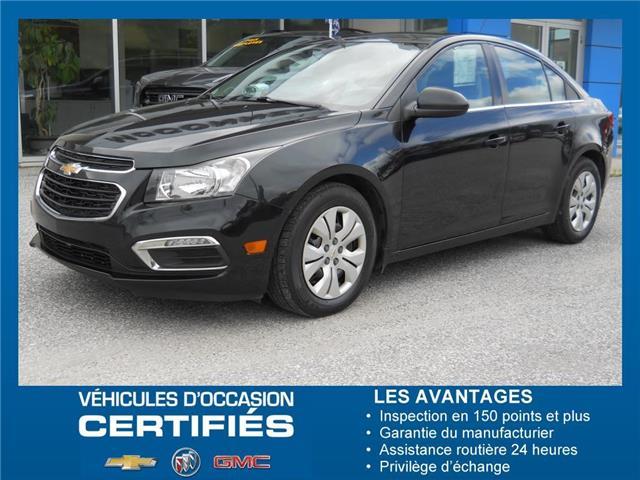2016 Chevrolet Cruze Limited 1LT (Stk: 02472A) in Maniwacki - Image 1 of 22