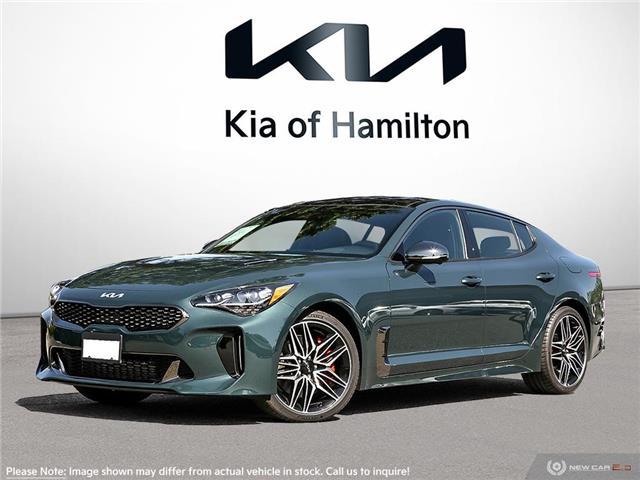 2022 Kia Stinger GT Elite - Suede Package (Stk: ST22003) in Hamilton - Image 1 of 23