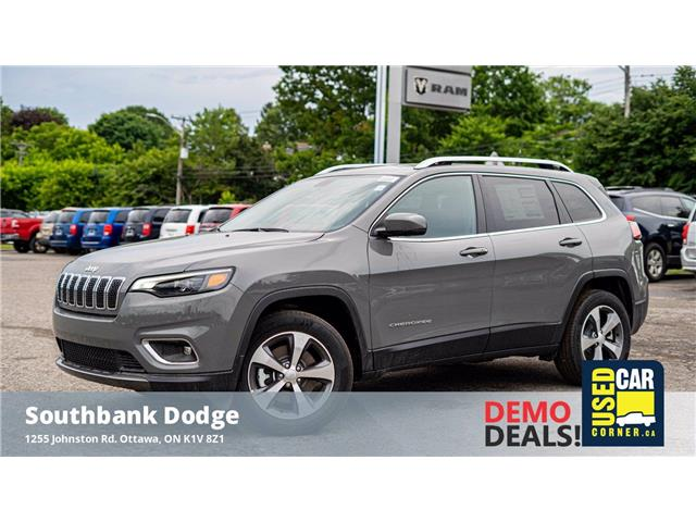 2021 Jeep Cherokee Limited (Stk: 210074) in OTTAWA - Image 1 of 22