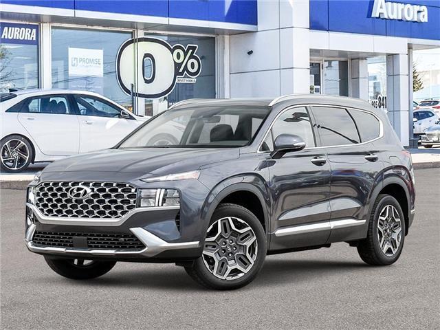 2021 Hyundai Santa Fe HEV Luxury (Stk: 22562) in Aurora - Image 1 of 10