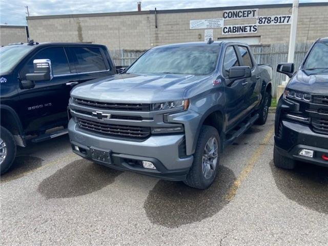 2020 Chevrolet Silverado 1500 4WD Crew RST, DIESEL, LEATHER, HTD STEERING, 20S (Stk: 359731A) in Milton - Image 1 of 1