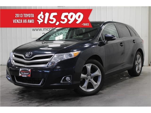 2013 Toyota Venza Base V6 (Stk: J047966A) in Winnipeg - Image 1 of 28