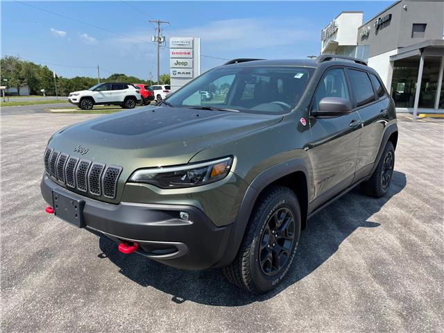 2021 Jeep Cherokee Trailhawk (Stk: 21065) in Meaford - Image 1 of 15