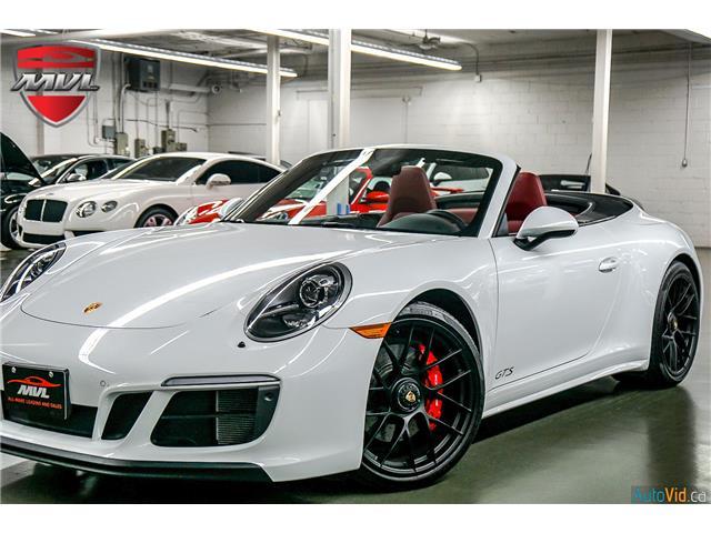 2018 Porsche 911 Carrera 4 GTS WP0CB2A96JS147901  in Oakville