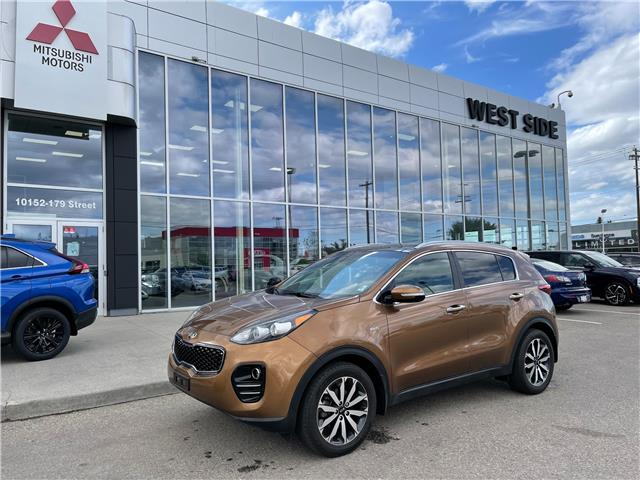 2017 Kia Sportage EX Premium (Stk: 7792) in Edmonton - Image 1 of 12